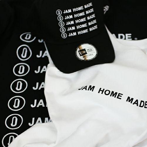 衣料品トップス / JAM HOME MADE ロゴTシャツ -BLACK&WHITE- メンズ レデース ロゴ 人気 おすすめ ブランド シンプル デザイン