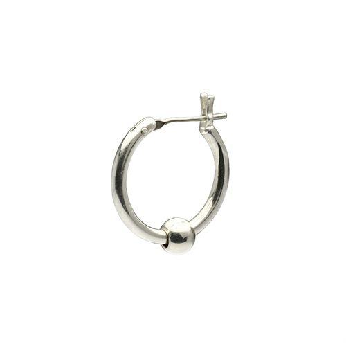 【JAM HOME MADE(ジャムホームメイド)】JAM アイレット フープピアス メンズ レディース シルバー 925 ブランド おすすめ 人気 誕生日 プレゼント ギフト 片耳 シンプル