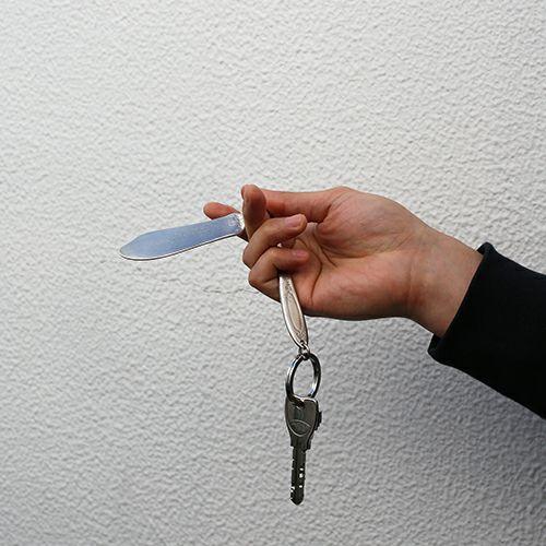 【ジャムホームメイド(JAMHOMEMADE)】ホームメイドJAM キーホルダー -ナイフ-