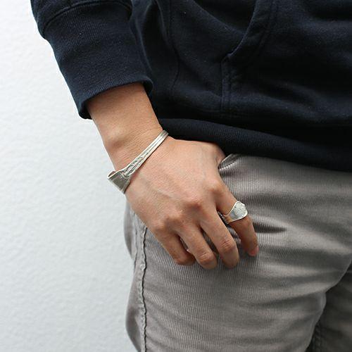 【JAM HOME MADE(ジャムホームメイド)】ホームメイドJAM バングル L メンズ レディース シルバー 925 人気 ブランド シンプル おすすめ アンティーク