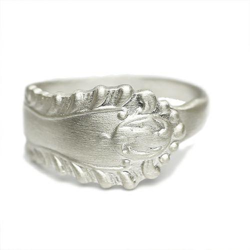 指輪 / ホームメイドJAM リング  S メンズ シルバー 925 人気 おすすめ ブランド スプーン シンプル 太め 幅