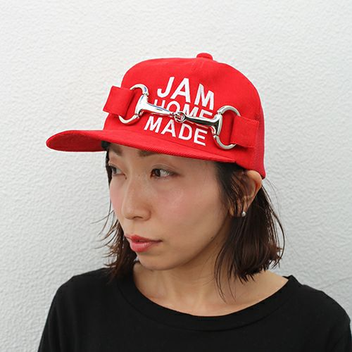 【JAM HOME MADE(ジャムホームメイド)】CA4LA/カシラ テンデンシーメッシュキャップ -RED- メンズ レディース ユニセックス サイズ調整 おすすめ 人気 オールシーズン コラボ ブランド