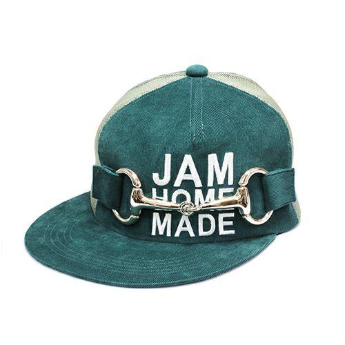 【JAM HOME MADE(ジャムホームメイド)】CA4LA/カシラ テンデンシーメッシュキャップ -GREEN- メンズ レディース ユニセックス サイズ調整 おすすめ 人気 オールシーズン コラボ ブランド