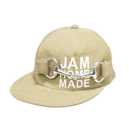 【JAM HOME MADE(ジャムホームメイド)】CA4LA/カシラ テンデンシーメッシュキャップ -BEIGE- メンズ レディース ユニセックス サイズ調整 おすすめ 人気 オールシーズン コラボ ブランド