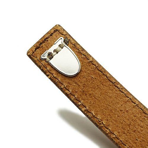 ブレスレット / ビットレザーブレスレット M -BROWN- メンズ 牛革 ホースビット 人気 ブランド シンプル おすすめ ギフト プレゼント
