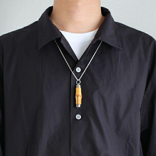 ネックレス / JAMBOO ネックレス M メンズ レディース シルバー 925 竹製 ペア 人気 おすすめ ブランド おもしろ 珍しい