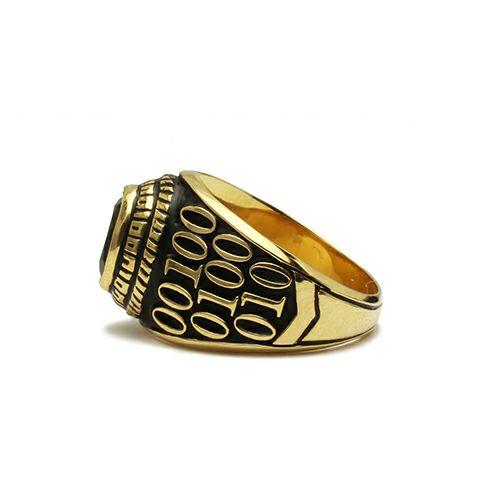 ONYX 0010 ハイブリッドカレッジリング S -K18YELLOWGOLD- / 指輪