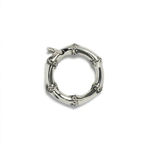 指輪 /  JAMBOO リング S メンズ レディース シルバー 925 人気 おすすめ ブランド バンブー 竹 アクセサリー ペア ごつい