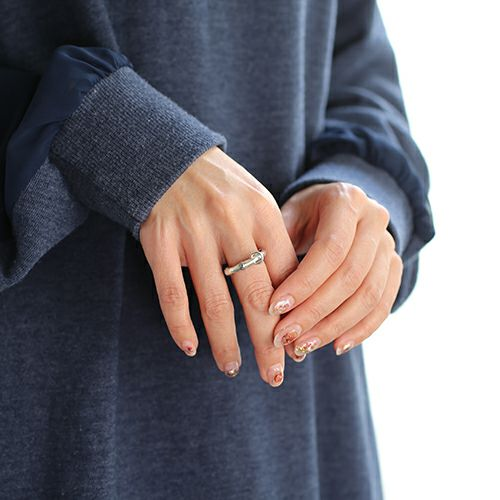【JAM HOME MADE(ジャムホームメイド)】 JAMBOO リング S / 指輪 メンズ レディース シルバー 925 人気 おすすめ ブランド バンブー 竹 アクセサリー ペア ごつい