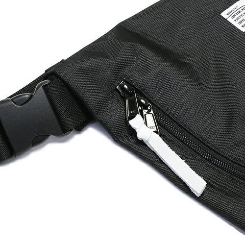 【JAM HOME MADE(ジャムホームメイド)】nonmetal ミニロールトップバッグ メンズ レディース ユニセックス ショルダー ウエスト ブラック 人気 おすすめ ブランド