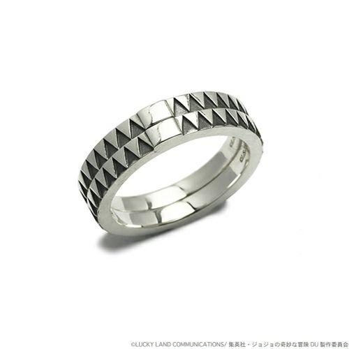 指輪/リング 『ジョジョの奇妙な冒険』 JOJO 空条承太郎ダブルベルトリング S
