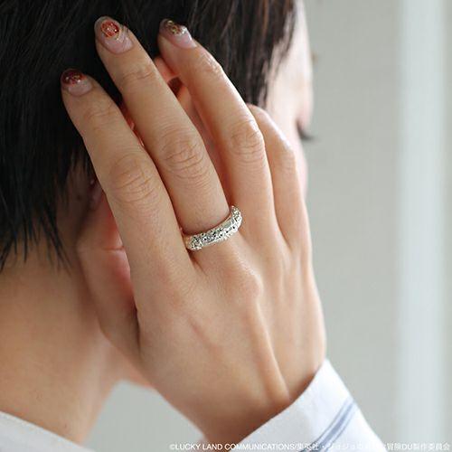 指輪/リング 『ジョジョの奇妙な冒険』 クレイジー・ダイヤモンドリング S