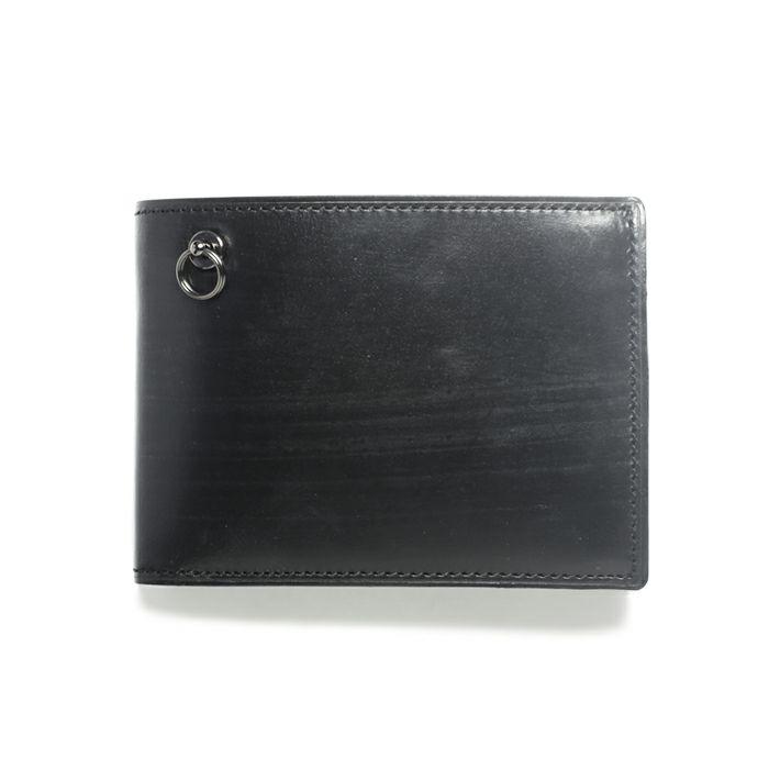 9月 誕生石ブライドルレザーミディアムウォレット / 二つ折り財布 / 財布・革財布