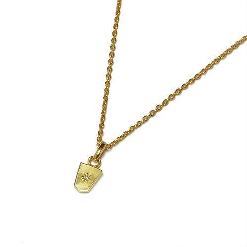 【JAM HOME MADE(ジャムホームメイド)】SHOGI N JAM ネックレス S レディース シルバー ゴールド チェーン ダイヤモンド 将棋 コマ アクセサリー 人気 おすすめ ブランド ペア
