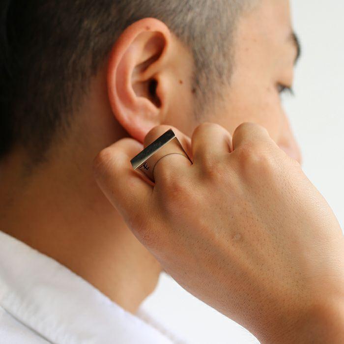 【JAM HOME MADE(ジャムホームメイド)】SHOGI N JAM リング L 王将 / 指輪 メンズ シルバー 925 ハンドメイド 将棋 コマ アクセサリー 人気 おすすめ ブランド