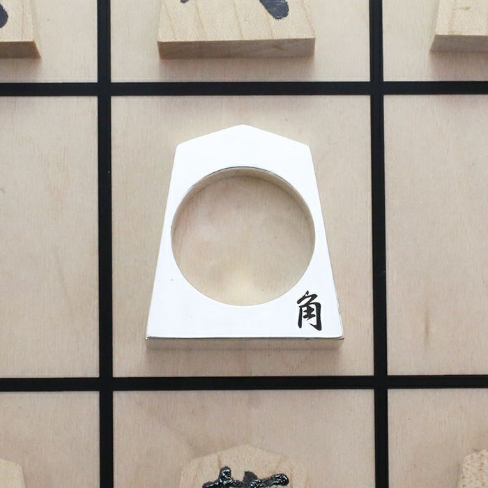 SHOGI N JAM 将棋駒 リング 角行 / 指輪・リング
