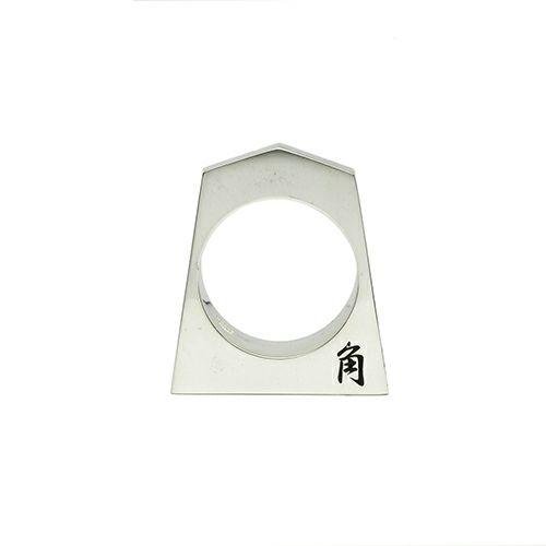 指輪 / SHOGI N JAM リング M 角行 メンズ シルバー 925 ハンドメイド 将棋 コマ アクセサリー 人気 おすすめ ブランド