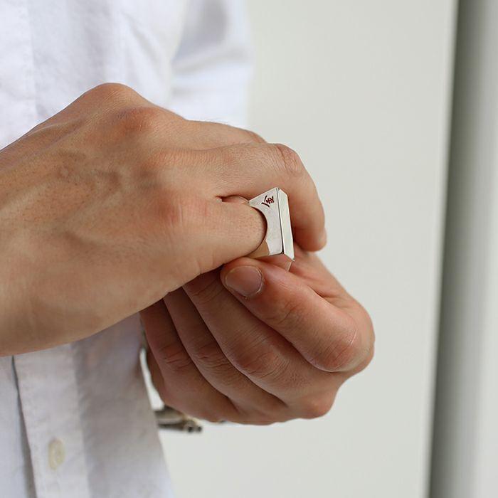 指輪 / SHOGI N JAM リング M 銀将 メンズ シルバー 925 ハンドメイド 将棋 コマ アクセサリー 人気 おすすめ ブランド