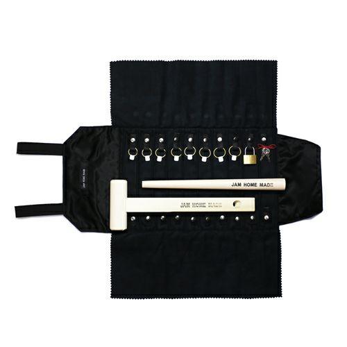 【JAM HOME MADE(ジャムホームメイド)】ポーター/PORTER アクセサリーケース - 名もなき指輪キットセット メンズ レディース ユニセックス リング 指輪 ネックレス ペンケース