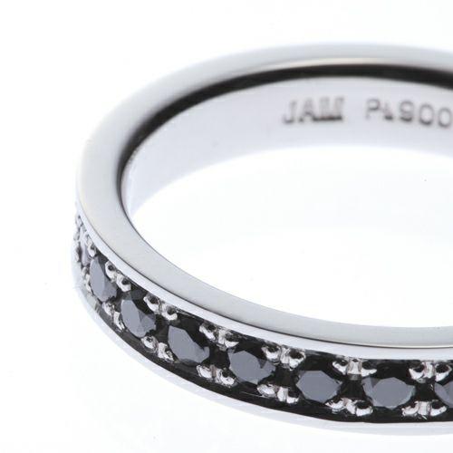 【ジャムホームメイド(JAMHOMEMADE)】カットレスエターナルリング SM -PT900- / 結婚指輪・マリッジリング