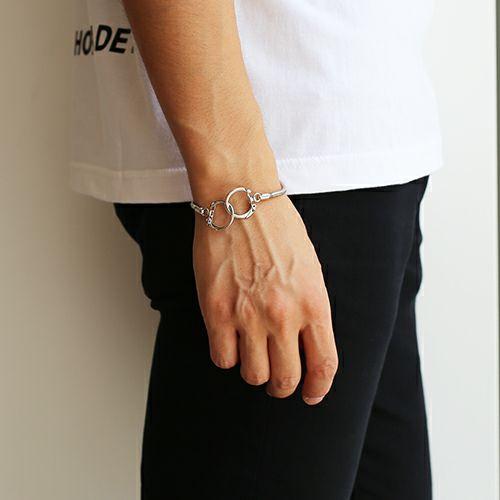 【JAM HOME MADE(ジャムホームメイド)】DAD 9WAY スネークネックレス -RHODIUM- メンズ シルバー フック ブレスレット アンクレット チョーカー ペア キーホルダー ウォレットチェーン 財布 人気 ブランド おすすめ