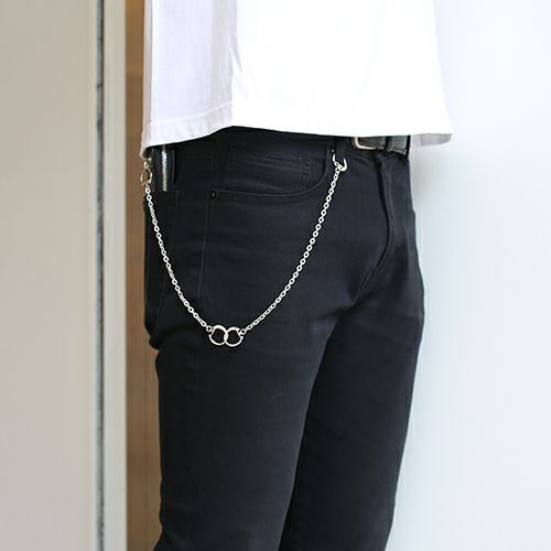 DAD 9WAY ビーンネックレス -SILVER-