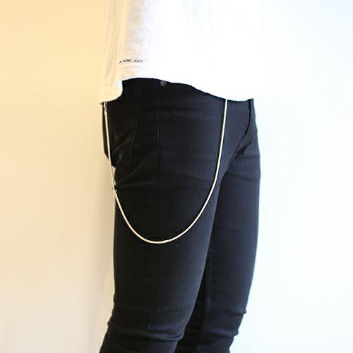 ネックレス / DAD 2WAY スネークネックレス -SILVER- メンズ シルバー フック ブレスレット ペア ウォレットチェーン 財布 人気 ブランド おすすめ
