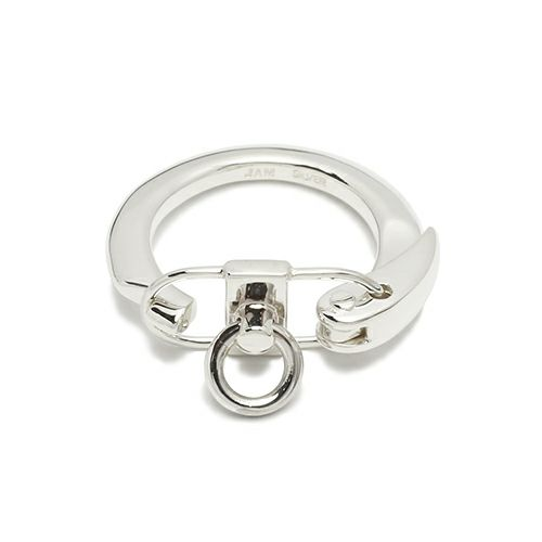 【JAM HOME MADE(ジャムホームメイド)】DADリング M / 指輪 メンズ レディース シルバー 925 ペア 人気 おすすめ ブランド ピンキー 懐かしい 昭和 デザイン