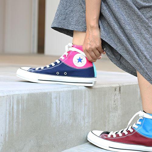 ファッション・アクセサリー靴 / コンバース チャックテイラー オールスター ハイ / CONVERSE CHUCK TAYLOR ALL STAR HI メンズ レディース ハイカット スニーカー 人気 おすすめ ブランド サイズ コラボ 限定 クレイジーカラー