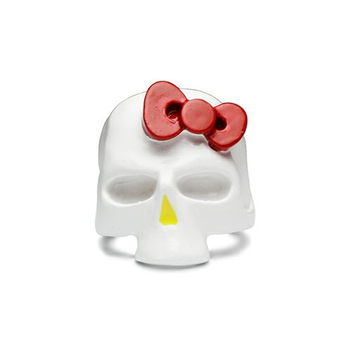 ハローキティ/Hello Kitty スカルフェイスリング -FULL COLOR- / 指輪・リング