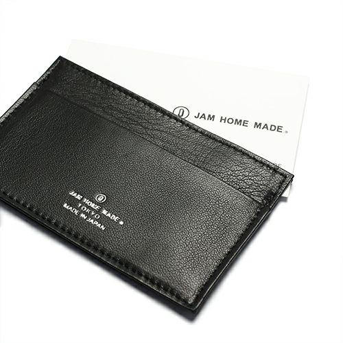【JAM HOME MADE(ジャムホームメイド)】DADカードケース / 名刺入れ メンズ レディース レザー ブラック 人気 ブランド おすすめ ギフト プレゼント 父の日 昭和 薄い 手触り