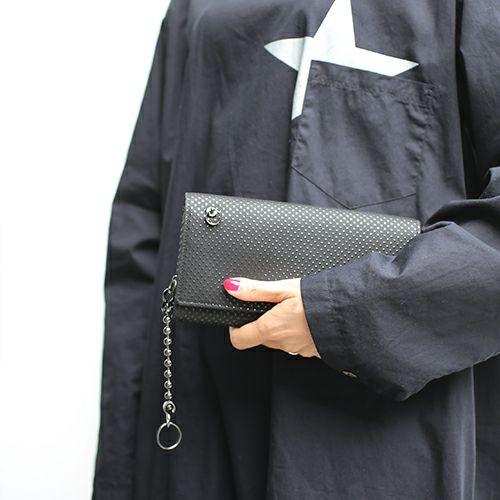 7月 誕生石 印傳屋(印伝屋) ロングウォレット・束入れ -PUNCHING- / 長財布 / 財布・革財布