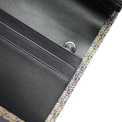 【ジャムホームメイド(JAMHOMEMADE)】オンラインショップ限定 印傳 - 印伝屋 長財布 束入れ がま口財布 無響柄