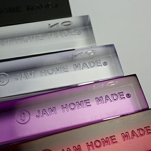 【JAM HOME MADE(ジャムホームメイド)】6月 誕生石 ホテルキーホルダー S メンズ レディース プレゼント 誕生日 バレンタイン 人気 ブランド 新婚 結婚祝い 誕生石 ホワイト 白