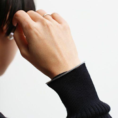 """全技連 開運バングル """"葡萄と石榴"""" -SILVER- / ブレスレット / ブレスレット ・ バングル"""