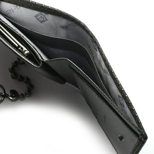 7月 誕生石 印傳屋(印伝屋) ミディアムウォレット・がま札財布 -山梨カモフラージュ- / 二つ折り財布