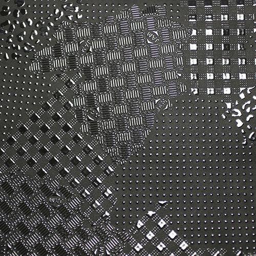 4月 誕生石 印傳屋(印伝屋) ミディアムウォレット・がま札財布 -山梨カモフラージュ- / 二つ折り財布 / 財布・革財布