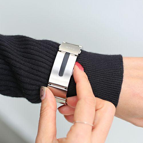 SONY wena wrist(ウェナリスト) pro カスタマイズバックルセット / 腕時計