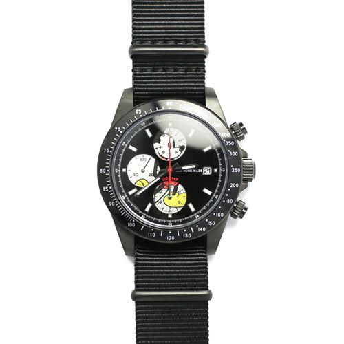 【ジャムホームメイド(JAMHOMEMADE)】シークレット ミッキー ウォッチ タイプ1 NATO - ブラック / 腕時計
