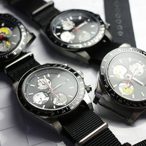 """シークレットミッキー""""MICKEY""""ウォッチ TYPE-1 NATO -BLACK- / 腕時計 / 時計・腕時計"""