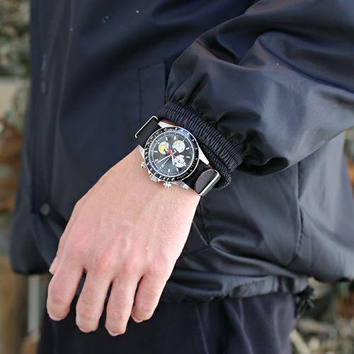 """シークレットミッキー""""MICKEY""""ウォッチ TYPE-1 NATO -SILVER- / 腕時計"""