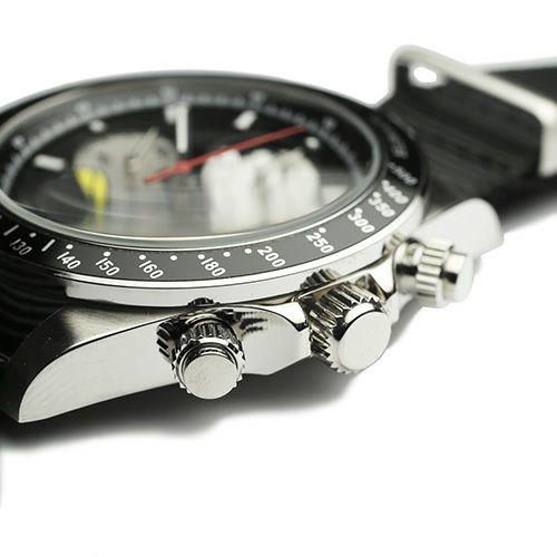 【ジャムホームメイド(JAMHOMEMADE)】シークレット ミッキー ウォッチ タイプ1 NATO -シルバー × ブラック / 腕時計