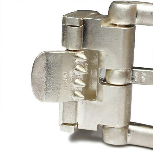 【JAM HOME MADE(ジャムホームメイド)】SVバックルベルト -MODERN- メンズ 人気 おすすめ ブランド シルバー 925 受注生産 オメガ式 付け替え レザー/革