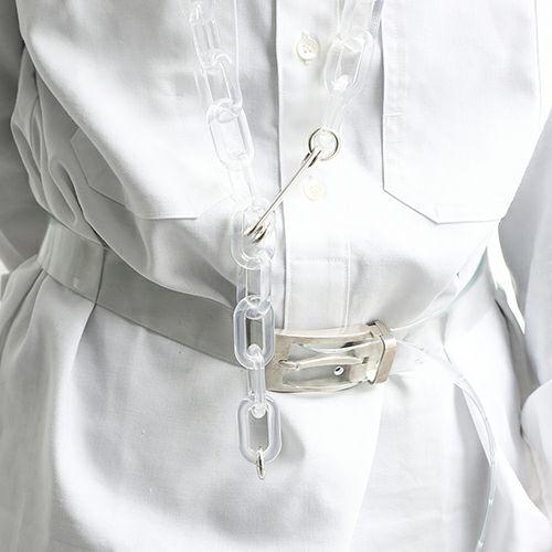 ファッション小物ベルト / SVバックルベルト -CLASSIC- メンズ 人気 おすすめ ブランド シルバー 925 受注生産 オメガ式 付け替え レザー/革
