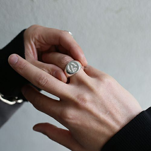 """【ジャムホームメイド(JAMHOMEMADE)】""""ア"""" から リング - シルバー / 指輪"""