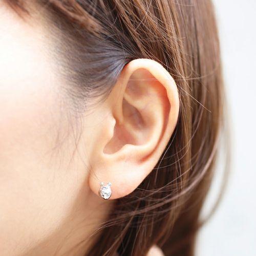 くまのプーさん / ピアス -SILVER- / 両耳