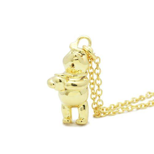 【JAM HOME MADE(ジャムホームメイド)】くまのプーさん / ネックレス -GOLD- レディース ゴールド 人気 ブランド おすすめ プチプラ POOH ディズニー コラボ かわいい