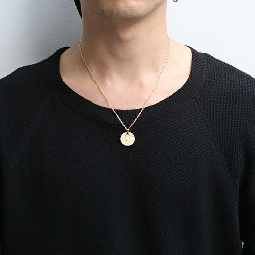 シックスペンスコインネックレス -GOLD-