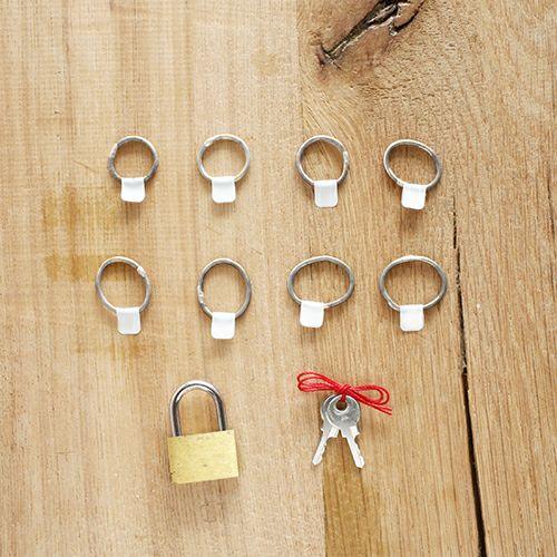 【ジャムホームメイド(JAMHOMEMADE)】名もなき指輪 ともだちキット - NAMELESS RING KIT -ステンレス- / 小さいサイズ
