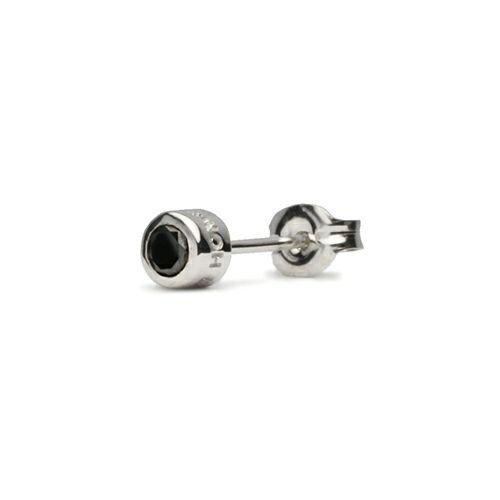 ピアス / ダイヤモンドモダンピアス 3mm メンズ レディース シルバー ブラック 人気 ブランド おすすめ 片耳 EXILE